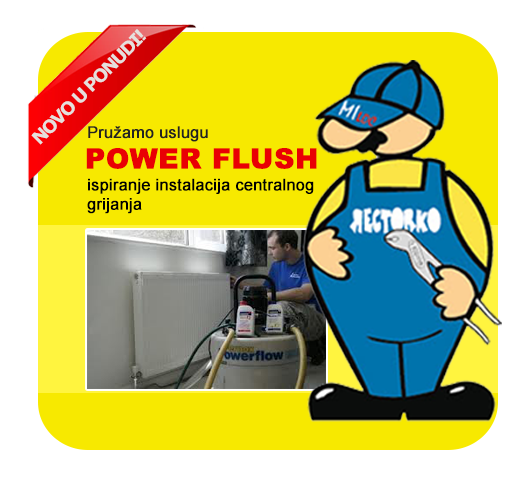 Power Flush ispiranje radijatora